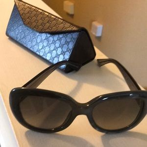 Gucci grey sunglasses